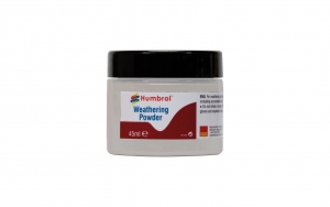 Humbrol AV0012 Pigment Weathering Powder 45 ml White