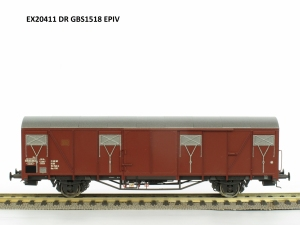 Exact-Train EX20411 Wagon towarowy kryty Gbs 1518, DR, Ep. IV