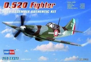 Francuski myśliwiec D-520 - 1:72