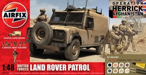 Gift Set - British Army Land Rover Patrol 1:48