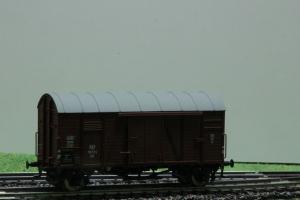 Exact-Train EX20221 Wagon towarowy kryty Oppeln Kddth, PKP, Ep. III