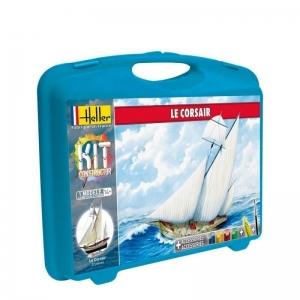 Heller 60616 Constructor Kit - Żaglowiec Le Corsair - 1:150