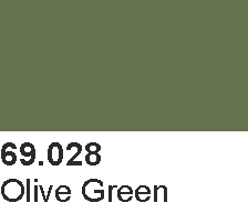 Vallejo 69028 Mecha Color 69028 Olive Green