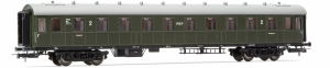 Wagon pasażerski 2 kl. PKP 19055 serii Bhxz (ex C4ü-26), st. Lublin, Ep. IIIc