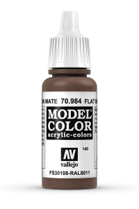 Vallejo 70984 Model Color 70984 140 Flat Brown
