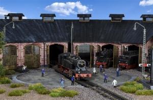 Kibri 39456 Obrotnica kolejowa