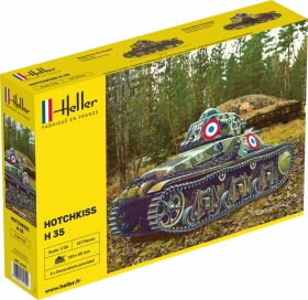 Heller 81132 Lekki czołg Hotchkiss H35 - 1:35
