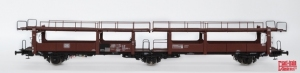 Exact-Train EX20005C Wagon do transportu samochodów Laes 542, 21 RIV 80 DB 413 0 226-4, DB, Ep. IV