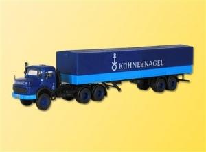 Ciągnik siodłowy Mercedes LS337 z naczepą Kühne + Nagel