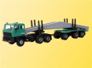 Ciągnik siodłowy DAF FT2800 DFS z przyczepą i ładunkiem
