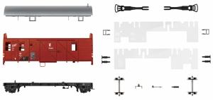 Wagon konduktorski Ft PKP - do samodzielnego montażu