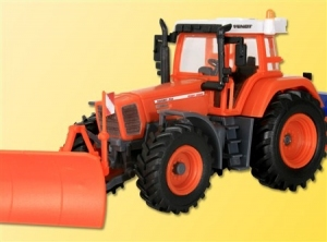 Kibri 15007 H0 Traktor Fendt Vario Favorit 926 z pługiem i piaskarką