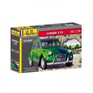 Heller 80765 Citroen 2 CV 1:24