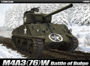 M4A3 (76)W US Army Battle of the Bulge 1:35