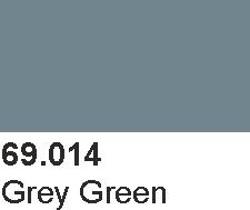 Vallejo 69014 Mecha Color 69014 Grey Green