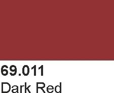 Vallejo 69011 Mecha Color 69011 Dark Red