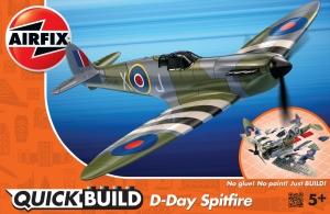 Airfix J6045 Quickbuild - D-Day Spitfire