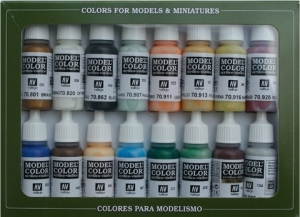 Vallejo 70146 Zestaw Model Color 16 farb - Naval (Steam Era)