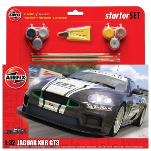 Starter Set - Jaguar XKRGT3 Apex Racing 1:32
