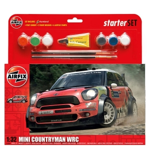 Airfix A55304 Starter Set - Mini Countryman WRC - 1:32