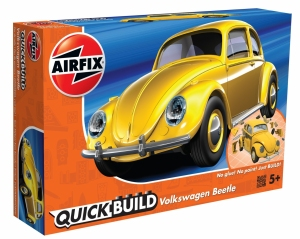 Airfix J6023 Quickbuild - VW Beetle Yellow