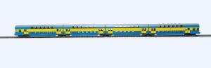 Rivarossi HRS4237 Czterowagonowy zespół piętrowy serii Bhp, st. Toruń