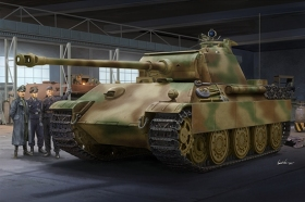 Trumpeter 00929 Czołg Sd.Kfz.171 Ausf.G Panther (late) - 1:16