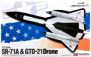 SR-71 & Drone 1:72