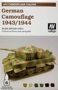 Vallejo 78414 AFV Camouflage System: German Camouflage 1943-1944
