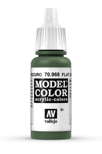 Vallejo 70968 Model Color 70968 83 Flat Green