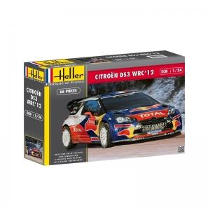 Heller 80757 Citroen DS3 WRC 2012 1:24