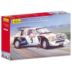 Heller 80716 Peugeot 205 EV 2 1:24