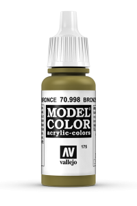 Vallejo 70998 Model Color 70998 175 Bronze