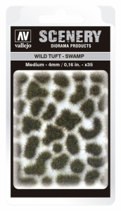 Vallejo SC405 Wild Tuft - Swamp