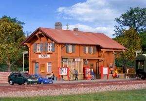 Kibri 39372 H0 Dworzec kolejowy Solis