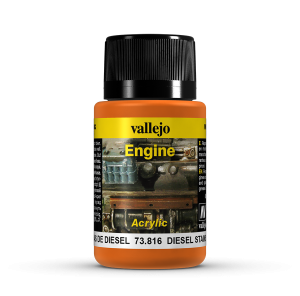 Vallejo 73816 Engine Effects 40 ml. Diesel Stains