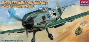 Academy 2214 Messerschmitt Bf-109E-3/4 + Kettenkrad