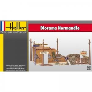 Heller 81250 Normandia - ruiny budynku