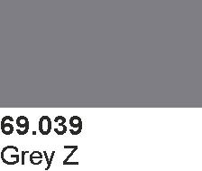 Vallejo 69039 Mecha Color 69039 Grey Z