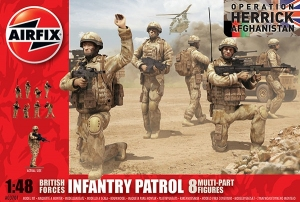 Airfix A03701 British Forces Infantry Patrol 1:48