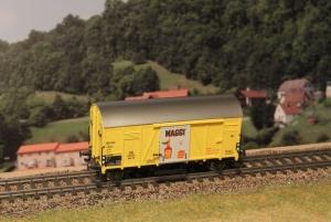 Exact-Train EX20121 Wagon towarowy kryty Oppeln Maggi Nr. 228013 Gms 30, DB, Ep. III