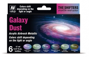 Vallejo 77092 Eccentric The Shifters Zestaw 6 farb - Galaxy Dust