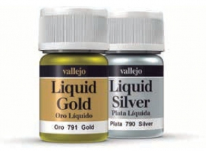 Vallejo 70791 Liquid Gold 70791 212 Gold