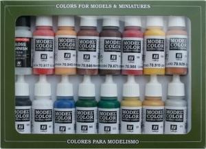 Vallejo 70148 Zestaw Model Color 16 farb - American Revolution