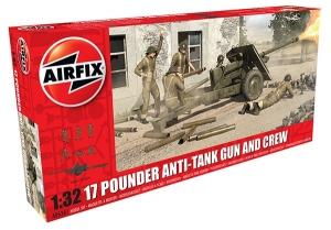 17 Pdr Anti Tank Gun 1:32