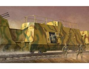 Trumpeter 01510 Wagon piechoty z niemieckiego pociągu pancernego BP-42 - 1:35