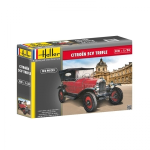 Heller 80702 Citroen 5 CV Trefle 1:24