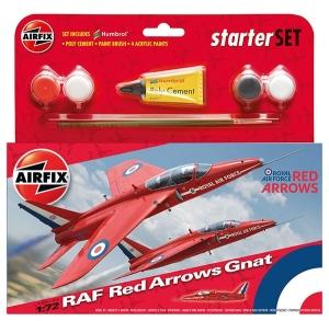 Starter Set - Red Arrows Gnat XR977 1:72