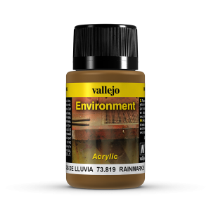 Vallejo 73819 Environment 40 ml. Rain Marks