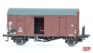 Zestaw 3 wagonów towarowych krytych Oppeln Gmrhs30 223714, 235289, 221806, DB, Ep. III